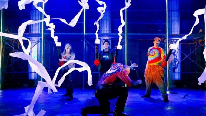 The Lightning Thief at Longacre Theatre