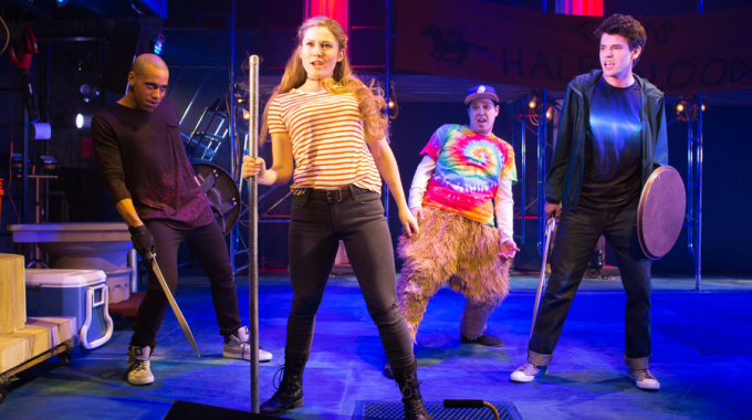 The Lightning Thief: The Percy Jackson Musical at Longacre Theatre